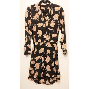 Lucky Brand Long sleeve floral fall dress size XS